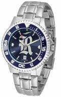 Rice Owls Competitor Steel AnoChrome Color Bezel Men's Watch