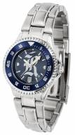 Rice Owls Competitor Steel AnoChrome Women's Watch - Color Bezel