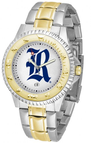 Rice Owls Competitor Two-Tone Men's Watch
