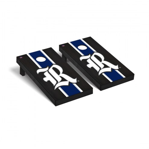 Rice Owls Onyx Stained Cornhole Game Set