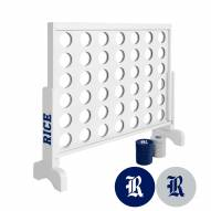 Rice Owls Victory Connect 4