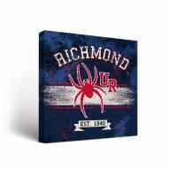 Richmond Spiders Banner Canvas Wall Art