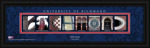 Richmond Spiders Personalized Campus Letter Art