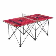 Richmond Spiders Pop Up 6' Ping Pong Table
