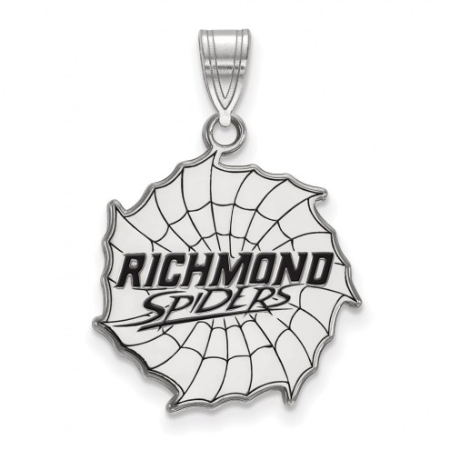 Richmond Spiders Sterling Silver Large Enameled Pendant