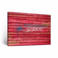 Richmond Spiders Weathered Canvas Wall Art