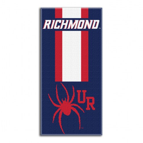 Richmond Spiders Zone Read Beach Towel