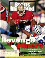 Ricky Watters Signed 11/21/94 Sports Illustrated Magazine