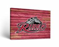 Rider Broncs Weathered Canvas Wall Art