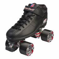 Riedell R3 Black Speed Roller Skates