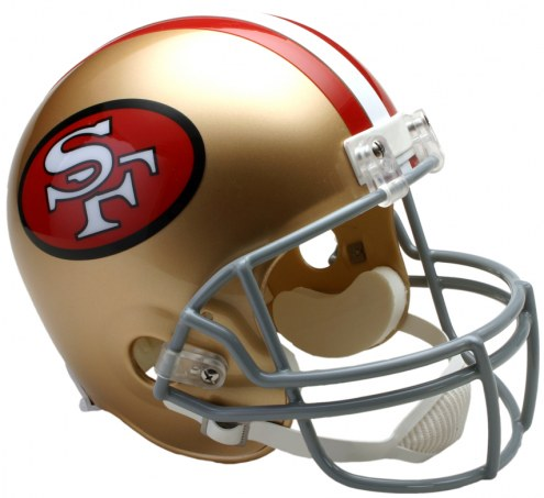Riddell San Francisco 49ers 1964-95 Deluxe Collectible Throwback NFL Football Helmet