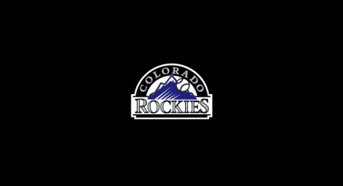 Colorado Rockies MLB Team Logo Billiard Cloth