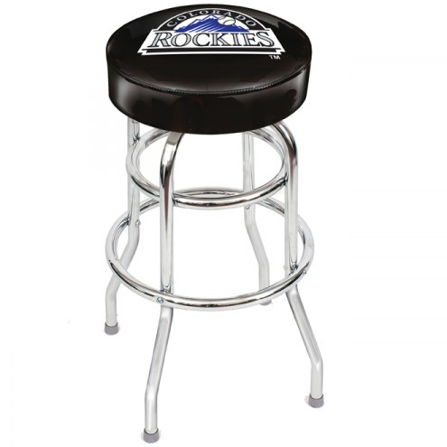 Colorado Rockies MLB Team BAR Stool