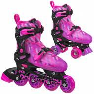 Roller Derby Flux Girls' Inline/Roller Combo Skates