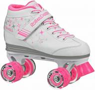 Roller Derby Sparkle Girls Quad Skates - Scuffed