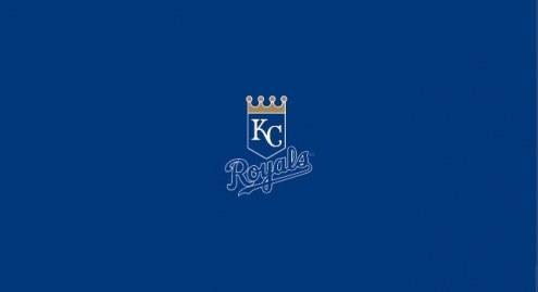 Kansas City Royals MLB Team Logo Billiard Cloth