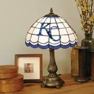 Kansas City Royals MLB Stained Glass Table Lamp