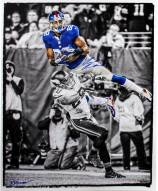 Rueben Randle Signed Touchdown Catch Black and White w/ Color Accents 8 x 10 Photo