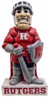 "Rutgers ""Scarlet Knight"" Stone College Mascot"
