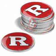 Rutgers Scarlet Knights 12-Pack Golf Ball Markers
