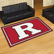 Rutgers Scarlet Knights 5' x 8' Area Rug