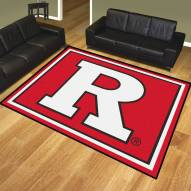 Rutgers Scarlet Knights 8' x 10' Area Rug