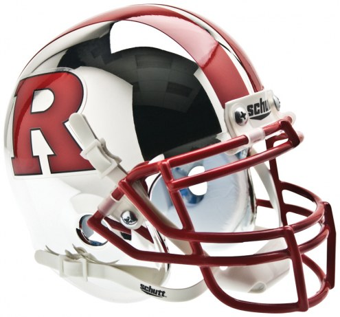 Rutgers Scarlet Knights Alternate 6 Schutt Mini Football Helmet
