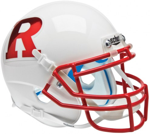 Rutgers Scarlet Knights Alternate 7 Schutt XP Authentic Full Size Football Helmet