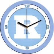 Rutgers Scarlet Knights Baby Blue Wall Clock