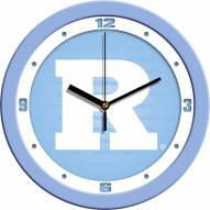 Rutgers Scarlet Knights Baby Blue Wall Clock