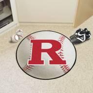 Rutgers Scarlet Knights Baseball Rug
