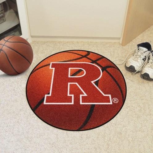 Rutgers Scarlet Knights Basketball Mat