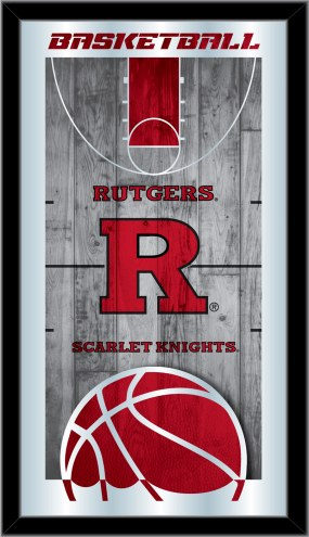Rutgers Scarlet Knights Basketball Mirror
