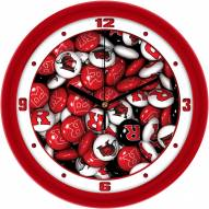 Rutgers Scarlet Knights Candy Wall Clock