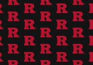 Rutgers Scarlet Knights College Repeat Area Rug