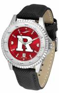 Rutgers Scarlet Knights Competitor AnoChrome Men's Watch