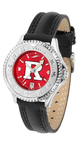Rutgers Scarlet Knights Competitor AnoChrome Women's Watch