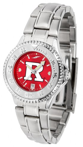 Rutgers Scarlet Knights Competitor Steel AnoChrome Women's Watch