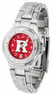 Rutgers Scarlet Knights Competitor Steel AnoChrome Women's Watch