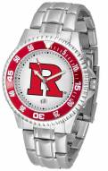 Rutgers Scarlet Knights Competitor Steel Men's Watch