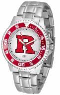 Rutgers Scarlet Knights Competitor Steel Men's Watch