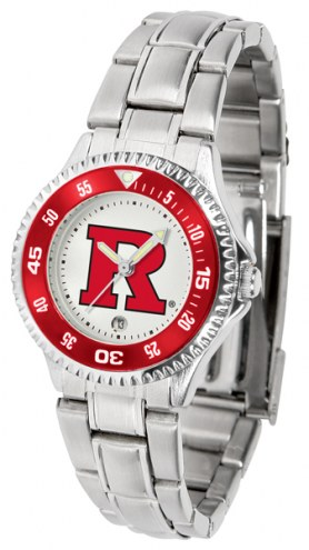 Rutgers Scarlet Knights Competitor Steel Women's Watch