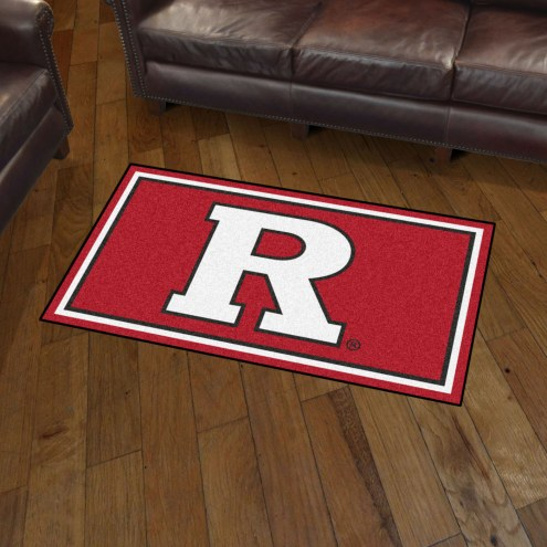 Rutgers Owls 3' x 5' Area Rug