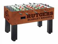 Rutgers Scarlet Knights Foosball Table