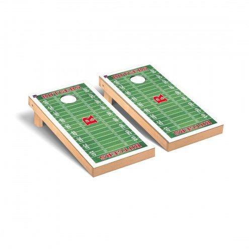 Rutgers Scarlet Knights Football Field Cornhole Game Set