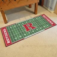 Rutgers Scarlet Knights Football Field Runner Rug