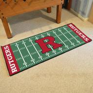 Rutgers Scarlet Knights Football Field Runner Rug