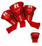 Rutgers Scarlet Knights Golf Headcovers - 3 Pack