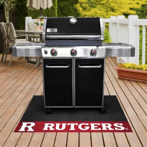 Rutgers Scarlet Knights Grill Mat