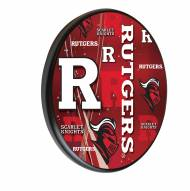 Rutgers Scarlet Knights Digitally Printed Wood Sign